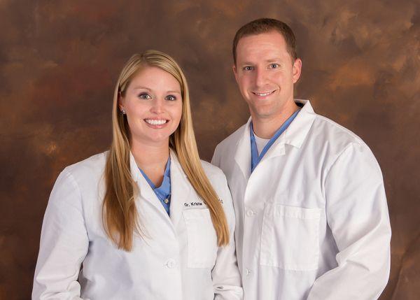 Dr. Chris Vinson and Dr. Kristie Vinson