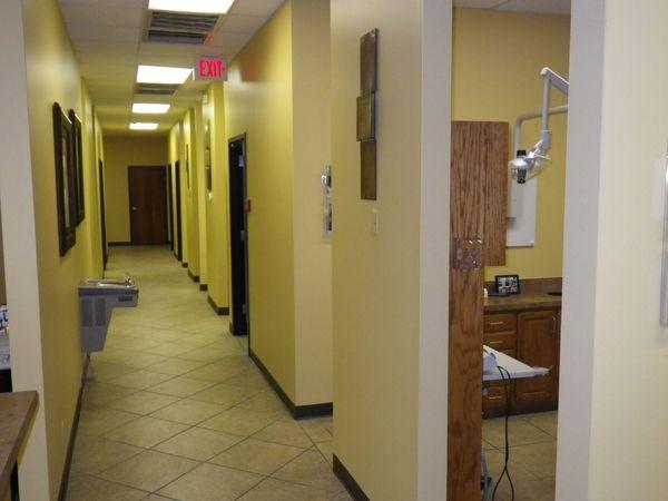 Tulsa Precision Dental inner view
