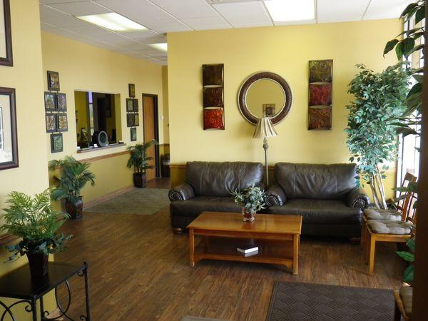 Tulsa Precision Dental waiting area