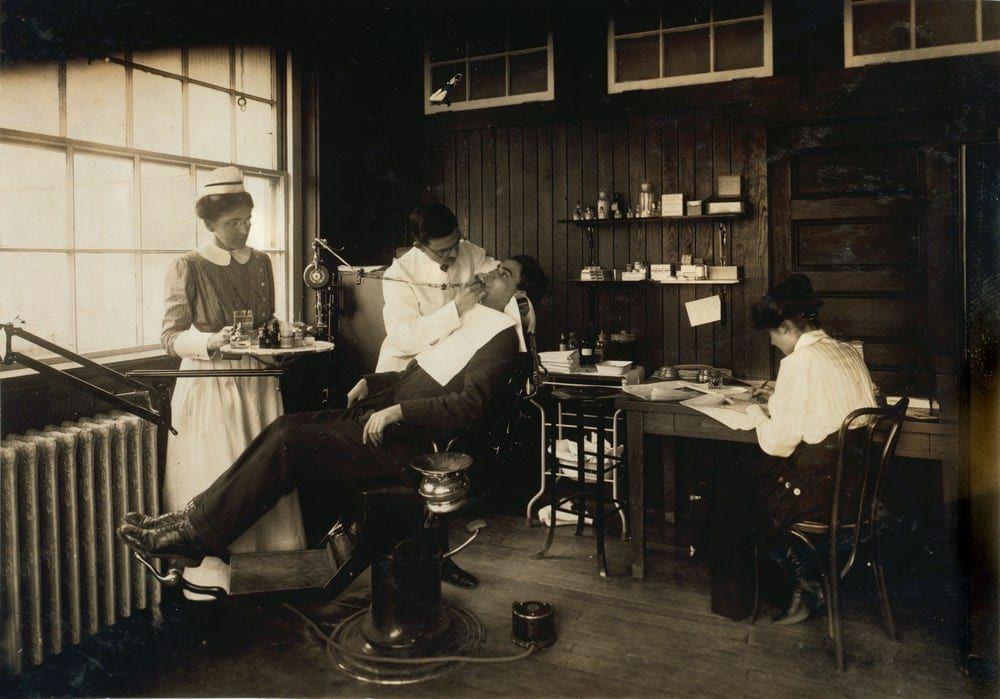 historic dental exam