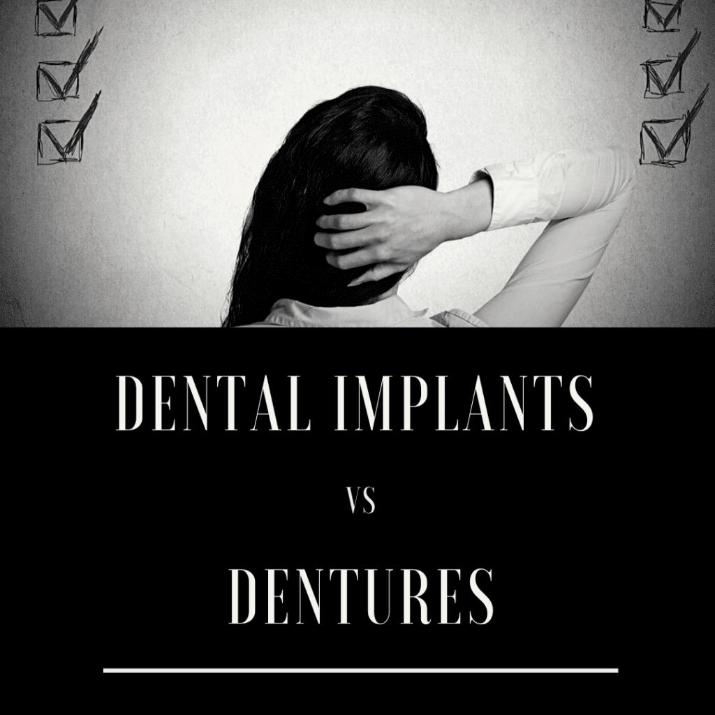 Dental Implants vs. Dentures