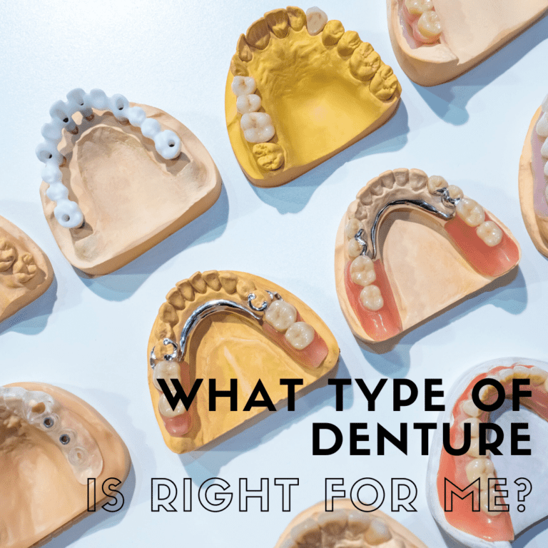 What Type of Denture is Right for Me?