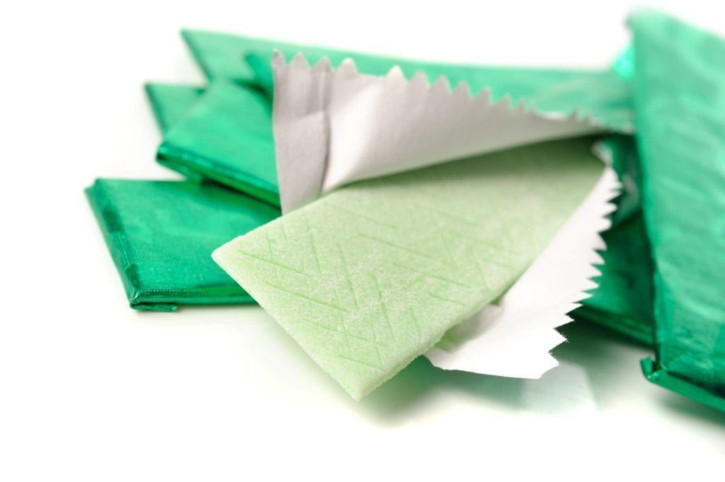 green sugarless gum